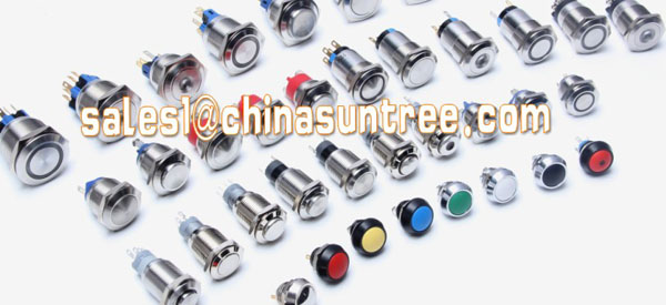Stainless steel pushbutton