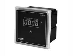 Economic type single-phase digital display meter