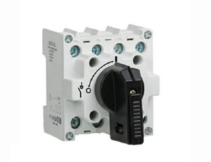 Main Switch for DIN Rail Mounting