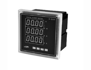 Three phase combination power meter