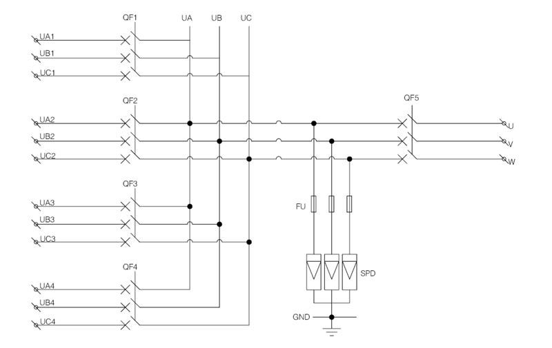 Shlx-ac4  1 Ac Pv Combiner Box