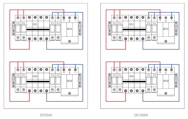 Shlx-pv4  2 Dc Combiner Box