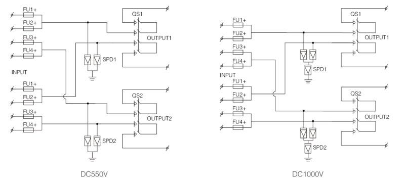 shlx pv4 2 dc combiner box china suntree electric rh chinasuntree com Solar Power System Wiring Diagram Solar Panel Wiring Diagram